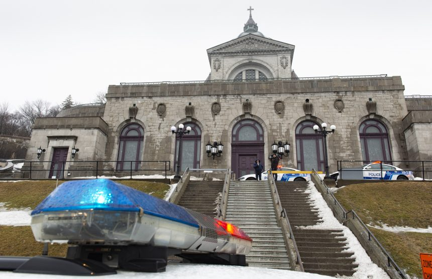 Montreal priest stabbed while celebrating morning mass, suffers minor injuries