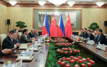 Philippines and China sign 6 deals in Duterte's 5th Beijing visit