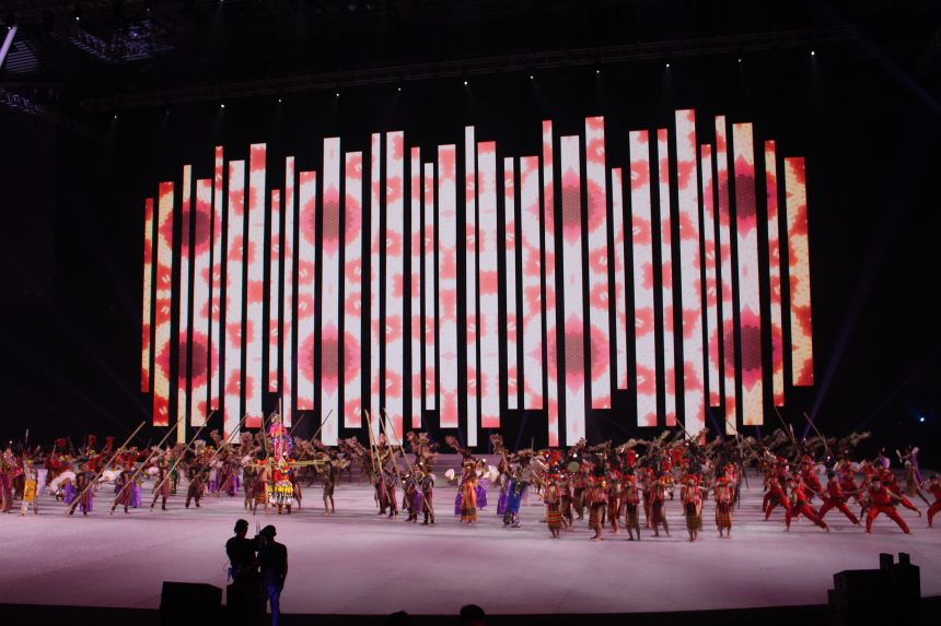 OPENING CEREMONY OF THE 30TH SEA GAMES AT THE PHIL ARENA BRINGS WAVES OF EXCITEMENT AND PRIDE