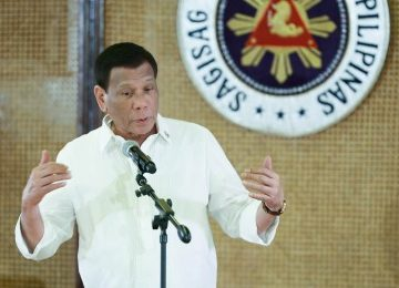 Duterte admits getting tired 'a bit'