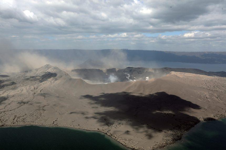 Awake from a long slumber: Taal Volcano eruption