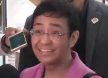 Ressa as one of the most influential women a 'mistake': Palace