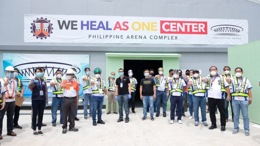"""We Heal as One"" COVID-19 facility at the Philippine Arena to open ahead of April 29-schedule"