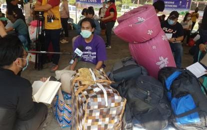 1st batch of 'Balik Probinsya' beneficiaries departs for Leyte, Phils