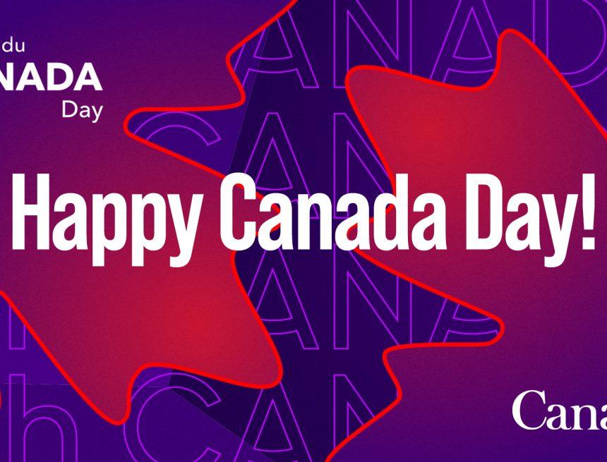 Canada's 153rd birthday!