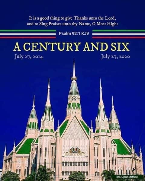 Iglesia Ni Cristo Celebrates 106 years of Global Civic Prominence