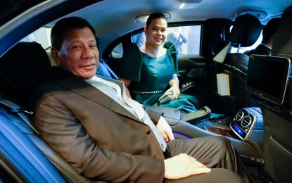 No gain in becoming president unless you're corrupt, PRRD to Sara