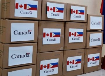 Canada donates N95 masks to Department of Health (DOH)