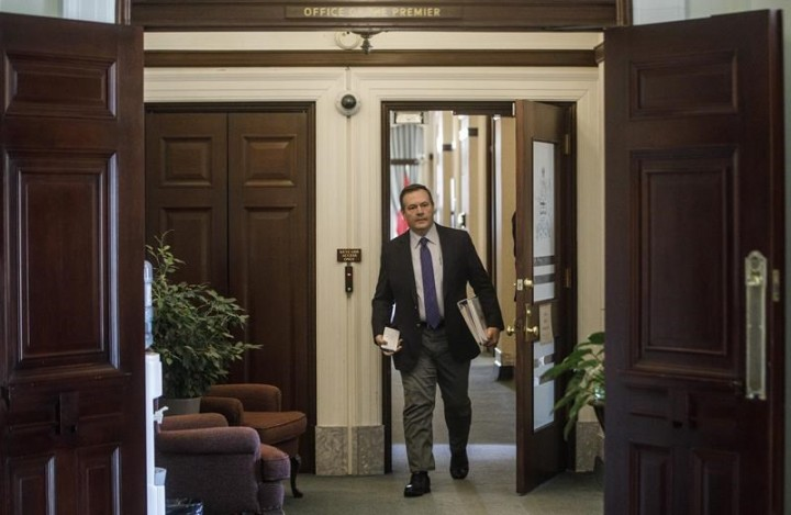 Alberta premier issues trip order after learning of vacationing officials
