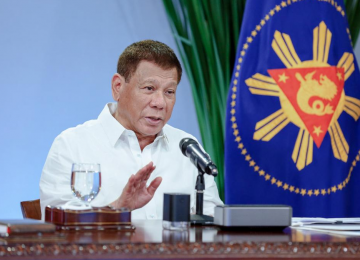 PHL President Duterte pleased with pace of vaccination rollout in the Philippines