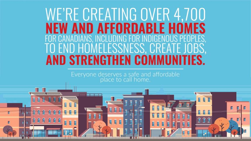 Rapid Housing Initiative will exceed targets by creating more than 4,700 new homes for Canadians