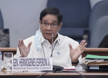 Philippines government won't give in to Reds' blackmail for peace tactics