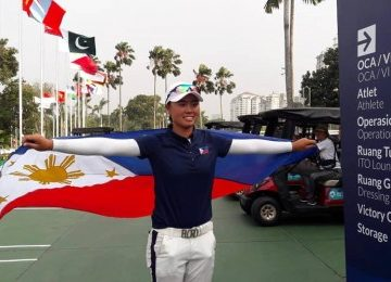 Resolution honoring 1st Filipina US Open champ filed in House