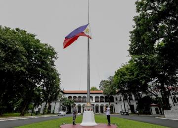 Philippine President Duterte declares 10-day national mourning for former President Benigno Aquino III