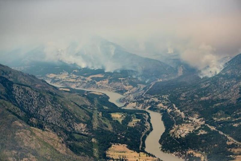 Wildfires prompt evacuation orders, alerts in B.C.