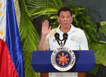 'Consider me a candidate for VP at this time': Duterte