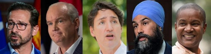 Here's how the federal leaders will pitch voters as an election campaign kicks off