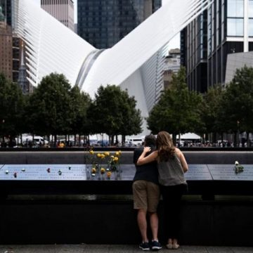 Twenty years on, Americans gather in lower Manhattan to remember Sept. 11 attacks