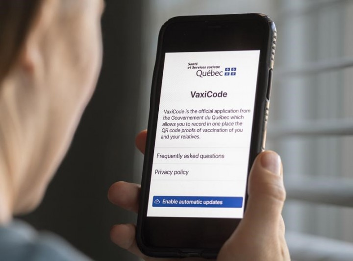 Quebec launches COVID-19 vaccine passport system across province