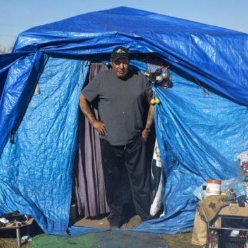 'I don't belong here': Homeless Albertans describe life in Wetaskiwin encampment